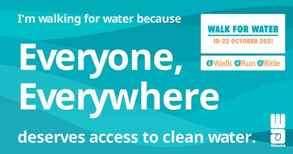 Walk for Water Social Tile 01