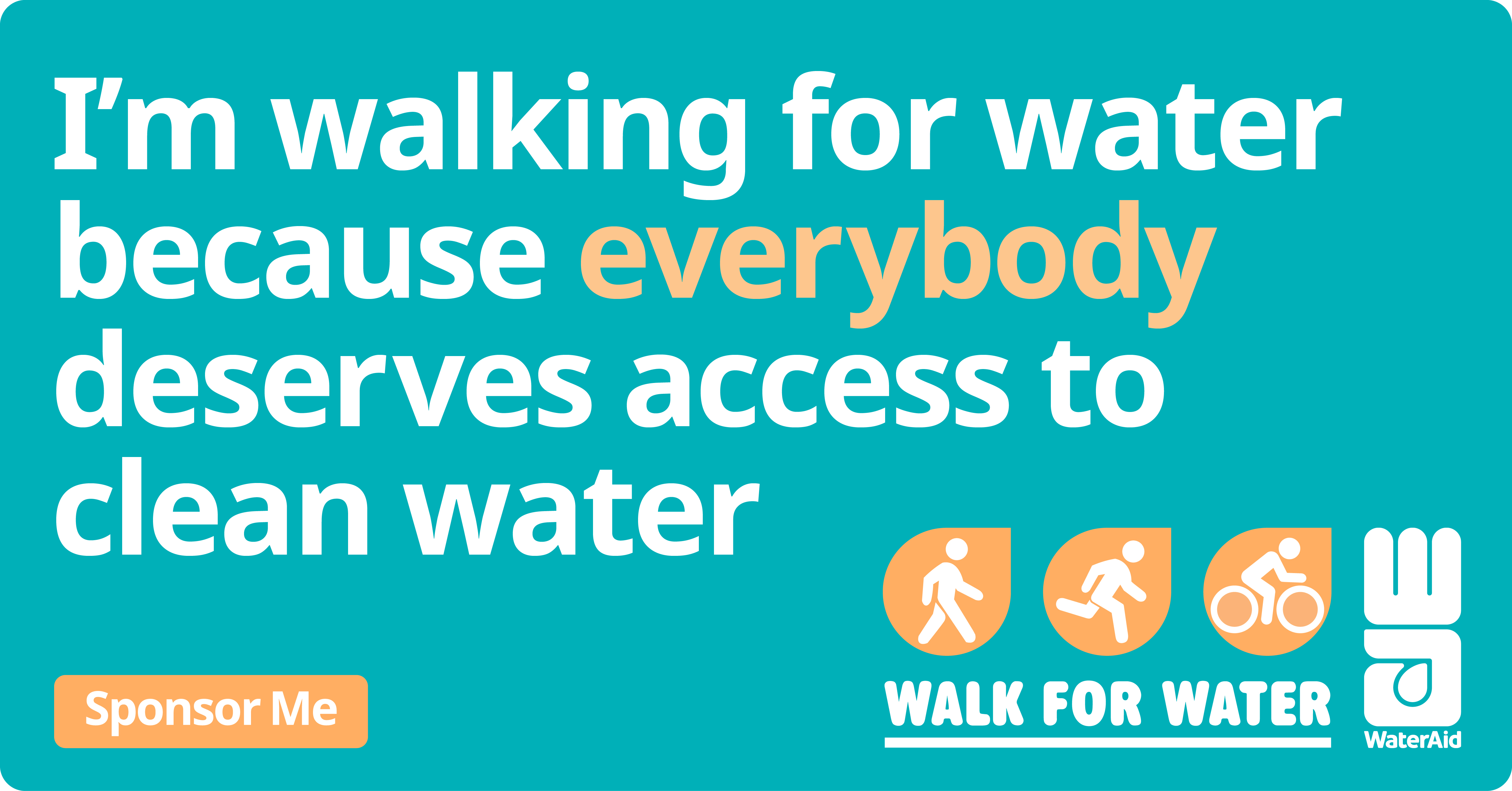 Walk for Water Social Tile 1