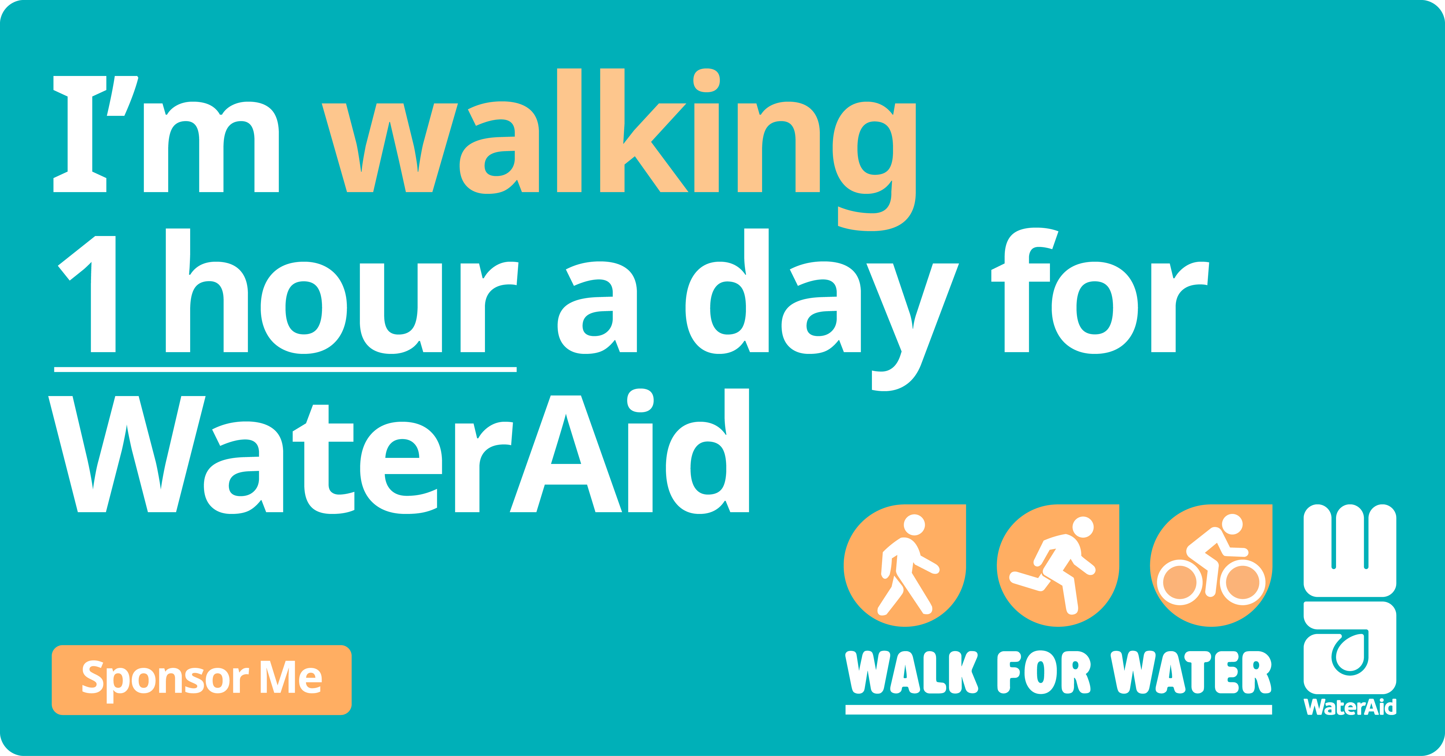 Walk for Water Social Tile 5