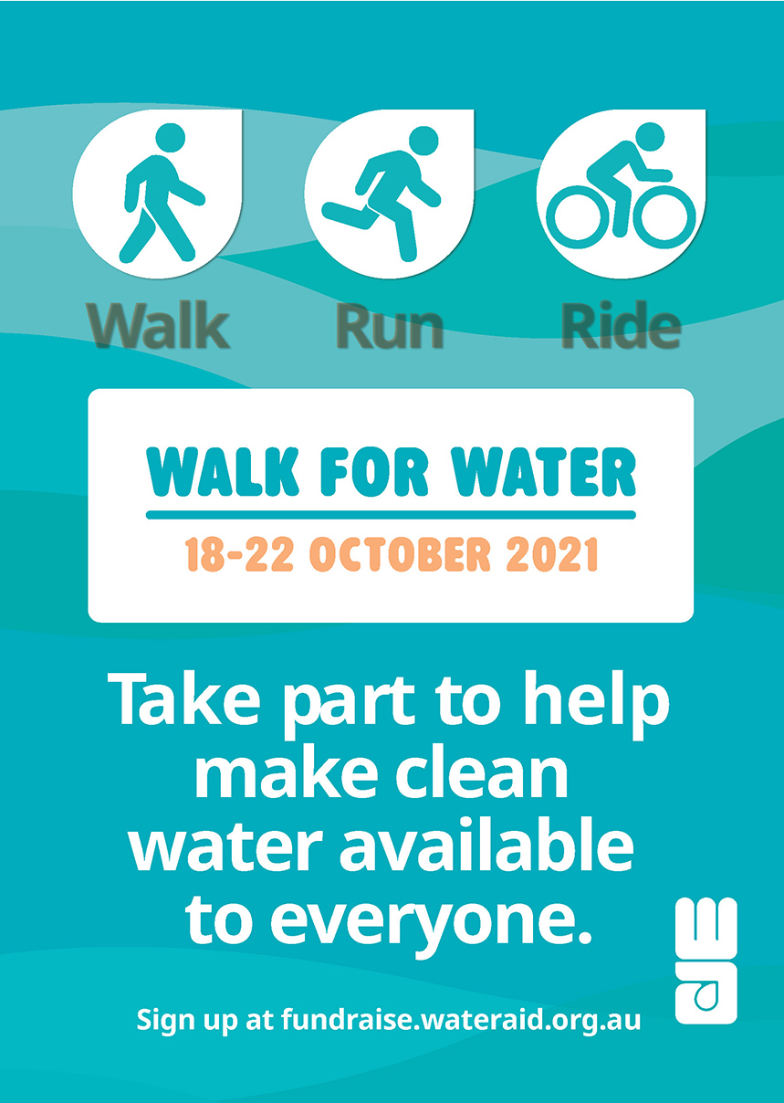 Walk for Water Poster