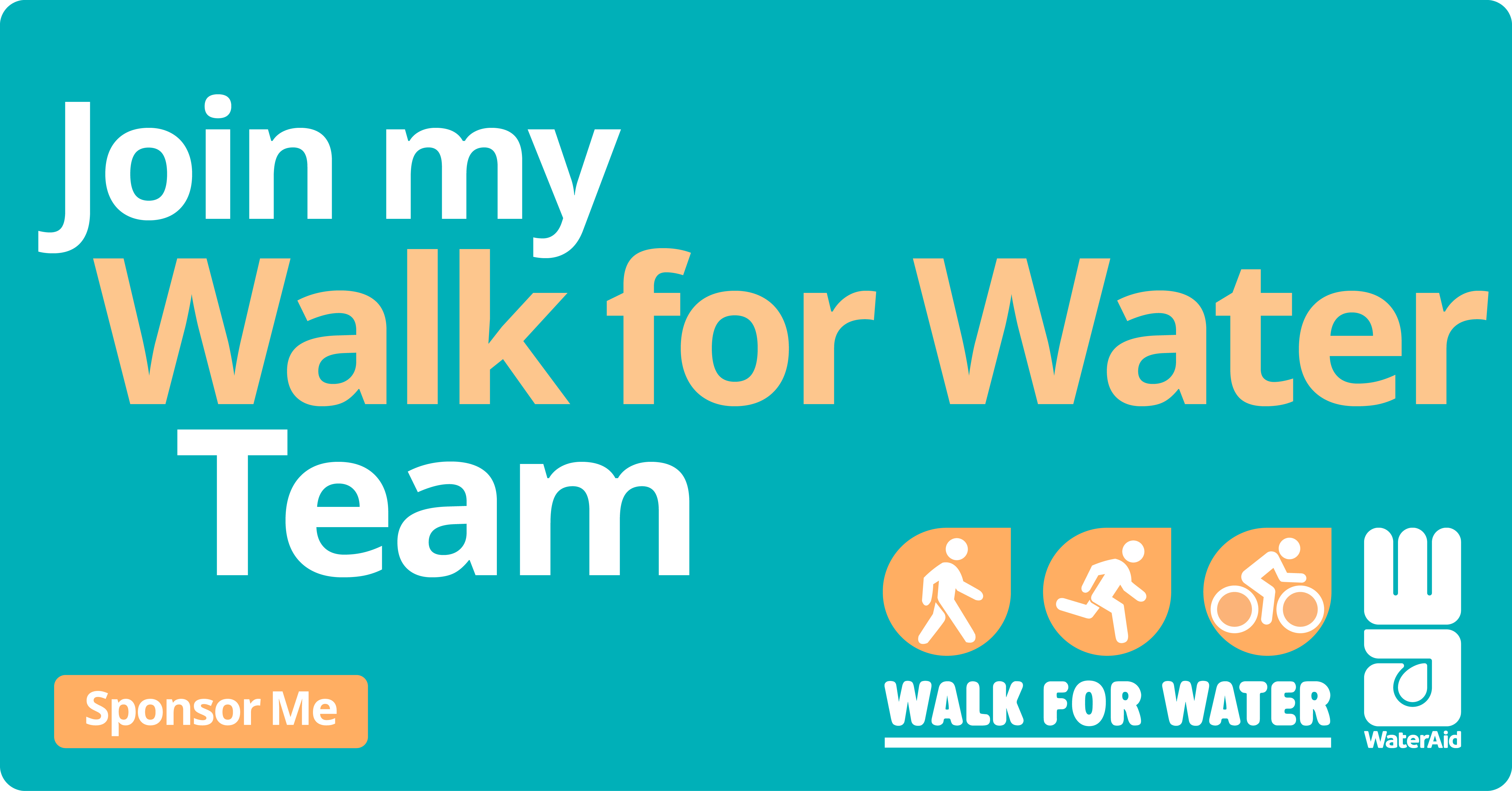 Walk for Water Social Tile  14